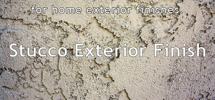 Home Exterior Finishes for High Elevation